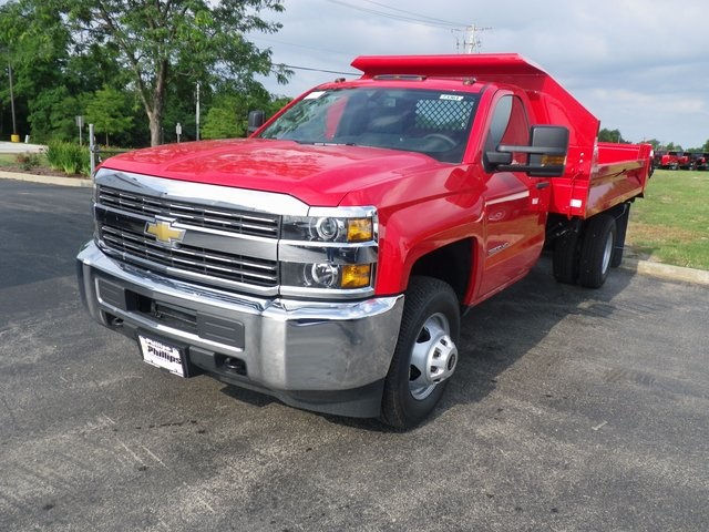 2017 Silverado 3500 Regular Cab DRW 4x4, Knapheide Drop Side Dump Bodies Dump Body #73361 - photo 18