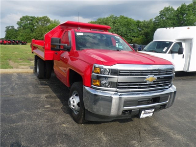2017 Silverado 3500 Regular Cab 4x4, Knapheide Drop Side Dump Bodies Dump Body #73361 - photo 4