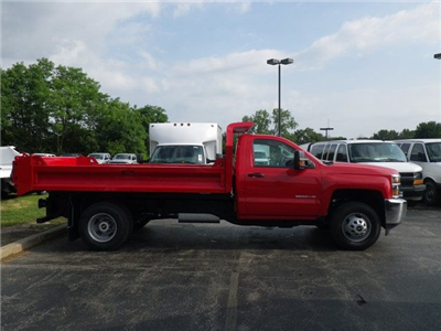 2017 Silverado 3500 Regular Cab DRW 4x4, Knapheide Drop Side Dump Bodies Dump Body #73361 - photo 5