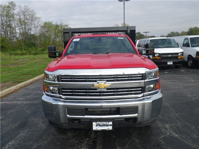 2017 Silverado 3500 Regular Cab DRW, Knapheide Value-Master X Platform Body #73379 - photo 5