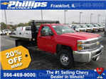 2017 Silverado 3500 Regular Cab DRW, Knapheide Value-Master X Platform Body #73379 - photo 1