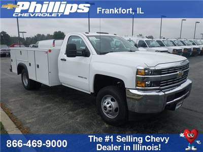 2017 Silverado 3500 Regular Cab, Monroe MSS II Service Body Service Body #73399 - photo 1