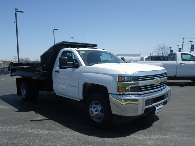 2017 Silverado 3500 Regular Cab DRW 4x4, Knapheide Drop Side Dump Bodies Dump Body #73676 - photo 3