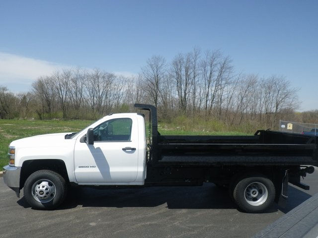2017 Silverado 3500 Regular Cab DRW 4x4, Knapheide Drop Side Dump Bodies Dump Body #73676 - photo 6