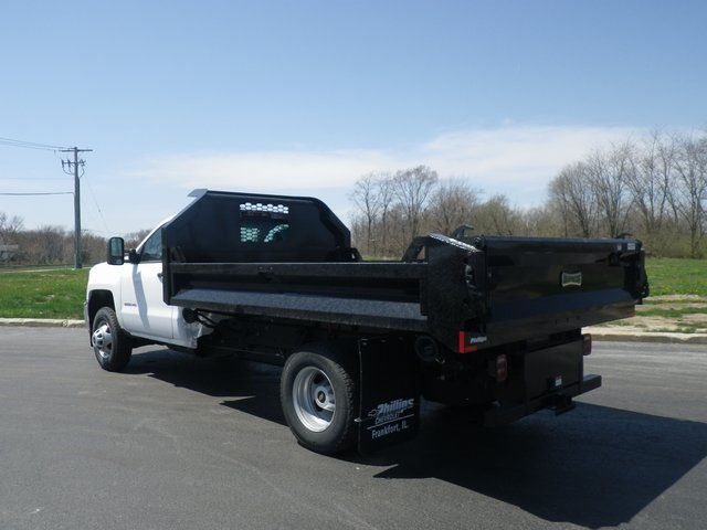 2017 Silverado 3500 Regular Cab DRW 4x4, Knapheide Drop Side Dump Bodies Dump Body #73676 - photo 7