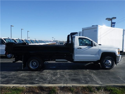2017 Silverado 3500 Regular Cab DRW 4x4, Knapheide Drop Side Dump Bodies Dump Body #73676 - photo 8
