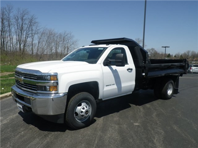 2017 Silverado 3500 Regular Cab DRW 4x4, Knapheide Drop Side Dump Bodies Dump Body #73676 - photo 5