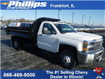 2017 Silverado 3500 Regular Cab DRW 4x4, Knapheide Drop Side Dump Bodies Dump Body #73676 - photo 1