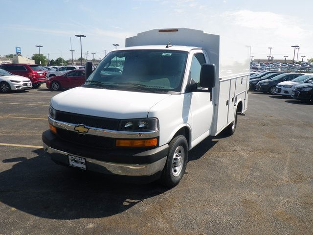 2017 Express 3500, Knapheide Service Utility Van #73682 - photo 4