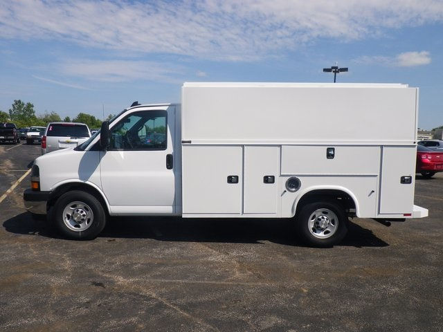 2017 Express 3500, Knapheide Service Utility Van #73682 - photo 5