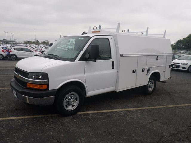 2017 Express 3500, Knapheide Service Utility Van #73787 - photo 4