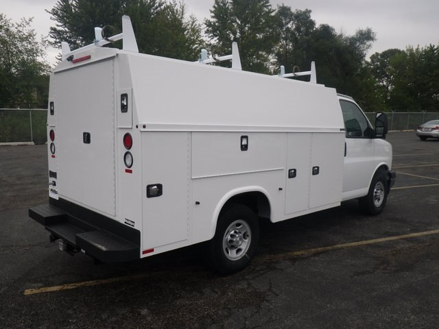 2017 Express 3500, Knapheide Service Utility Van #73787 - photo 2
