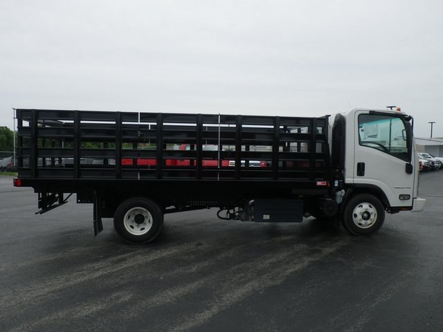 2017 LCF 4500HD Regular Cab 4x2,  Monroe Stake Bed #74154 - photo 8