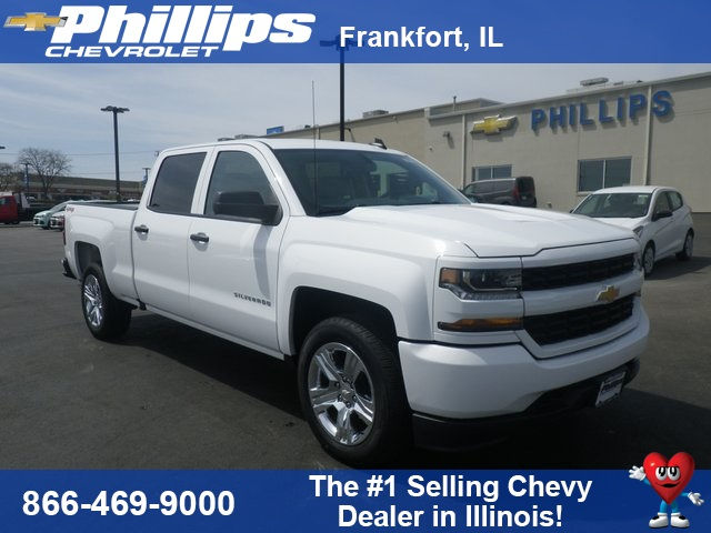 2018 Silverado 1500 Crew Cab 4x4, Pickup #80417 - photo 1