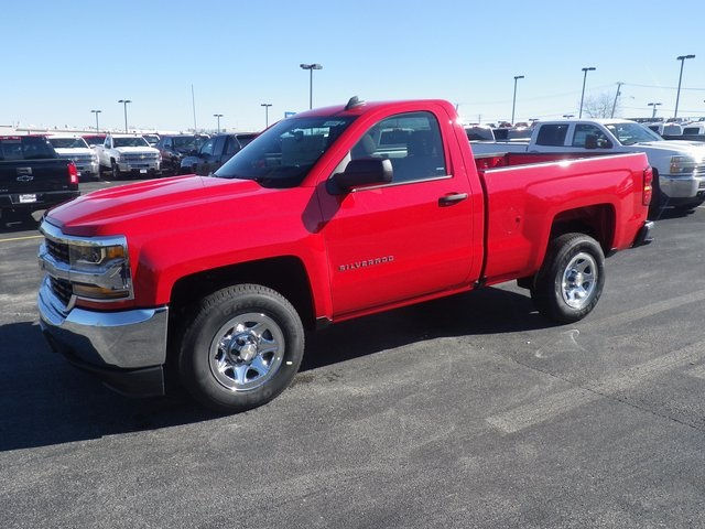 2018 Silverado 1500 Regular Cab Pickup #80554 - photo 4