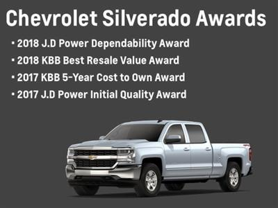 2018 Silverado 1500 Crew Cab 4x4, Pickup #81579 - photo 21