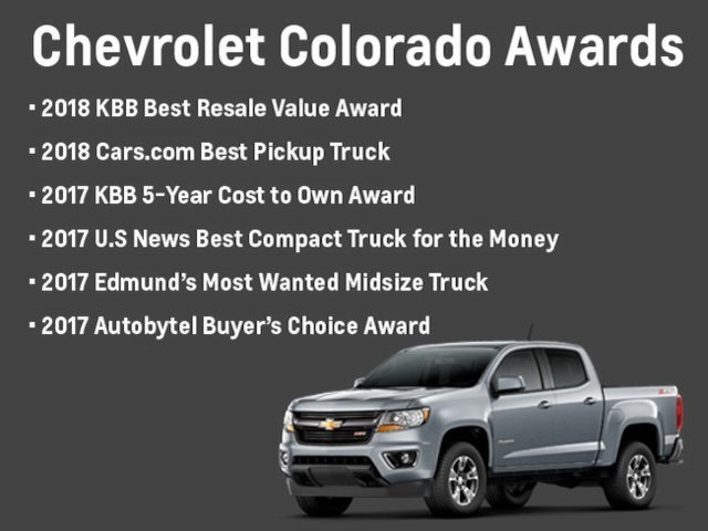 2018 Colorado Extended Cab 4x4,  Pickup #81708 - photo 1