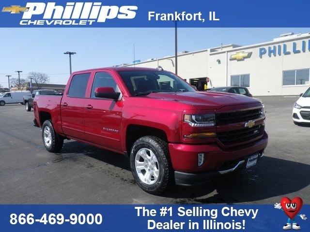 2018 Silverado 1500 Crew Cab 4x4, Pickup #81895 - photo 1