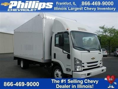 2018 LCF 4500 Regular Cab 4x2,  Bay Bridge Sheet and Post Cutaway Van #82353 - photo 1