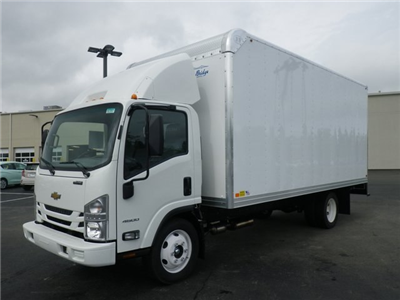 2018 LCF 4500 Regular Cab 4x2,  Bay Bridge Sheet and Post Cutaway Van #82353 - photo 4