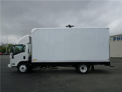 2018 LCF 4500 Regular Cab 4x2,  Bay Bridge Sheet and Post Cutaway Van #82353 - photo 5