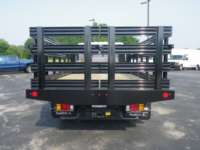 2018 LCF 5500HD Regular Cab 4x2,  Monroe Work-A-Hauler II Stake Bed #82445 - photo 8
