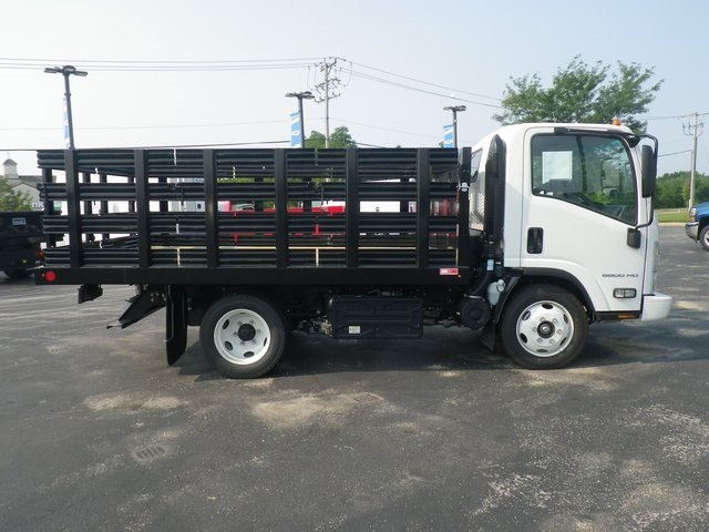 2018 LCF 5500HD Regular Cab 4x2,  Monroe Stake Bed #82445 - photo 9