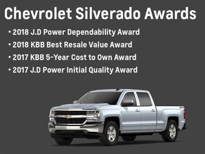 2018 Silverado 1500 Double Cab 4x4,  Pickup #82513 - photo 20