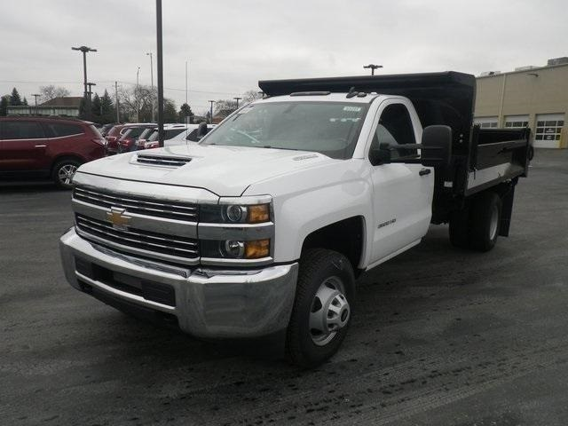 2018 Silverado 3500 Regular Cab DRW 4x4,  Knapheide Drop Side Dump Body #83241 - photo 6