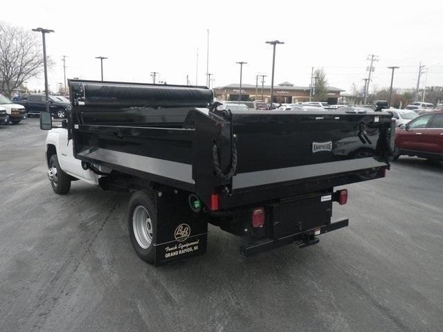 2018 Silverado 3500 Regular Cab DRW 4x4,  Knapheide Drop Side Dump Body #83241 - photo 8