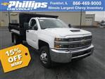 2018 Silverado 3500 Regular Cab DRW 4x4,  Knapheide Drop Side Dump Body #83241 - photo 1