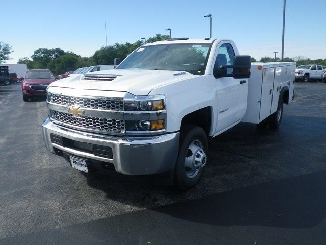 2019 Silverado 3500 Regular Cab DRW 4x4,  Monroe Service Body #90159 - photo 4