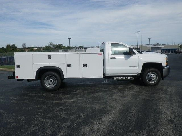 2019 Silverado 3500 Regular Cab DRW 4x4,  Monroe Service Body #90159 - photo 8