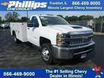2019 Silverado 3500 Regular Cab DRW 4x4,  Monroe Service Body #90159 - photo 1