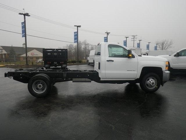 2019 Silverado 3500 Regular Cab DRW 4x2,  Cab Chassis #90865 - photo 8