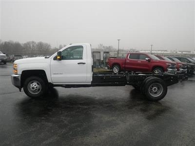 2019 Silverado 3500 Regular Cab DRW 4x2,  Cab Chassis #90865 - photo 5