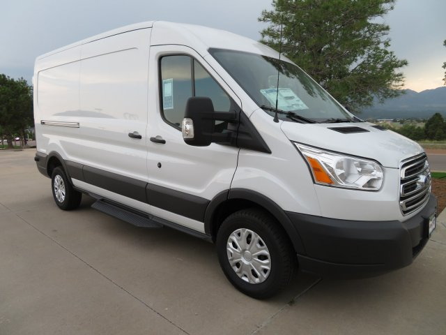 2018 Transit 250 Med Roof 4x2,  Empty Cargo Van #358019 - photo 4