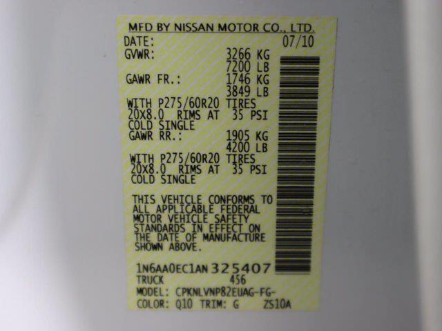 2010 Nissan Titan 4x4, Pickup #381059A - photo 34