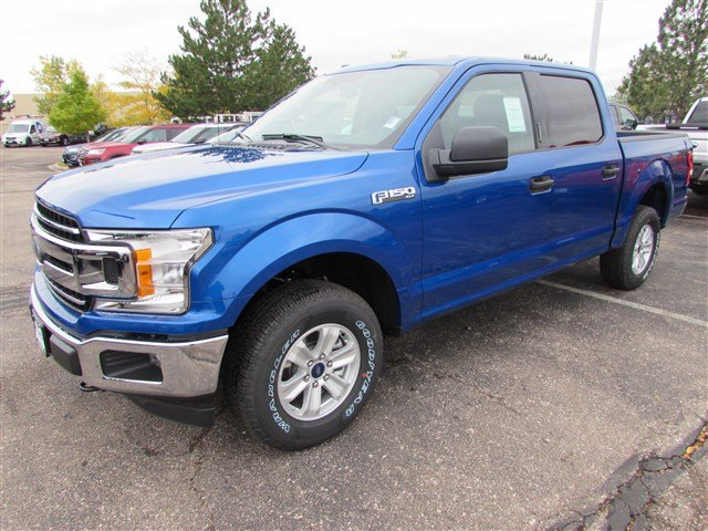 2018 F-150 Crew Cab 4x4 Pickup #528040 - photo 3