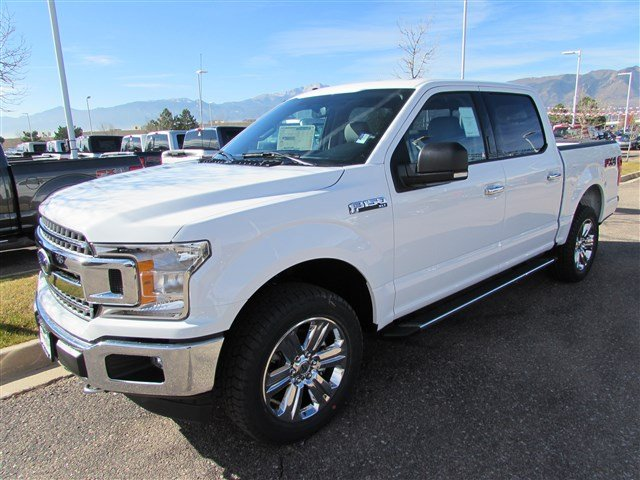 2018 F-150 SuperCrew Cab 4x4, Pickup #528076 - photo 4