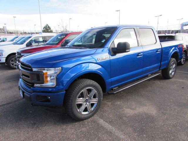2018 F-150 SuperCrew Cab 4x4, Pickup #528088 - photo 1