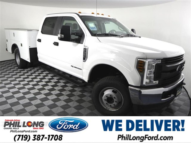 2019 F-350 Crew Cab DRW 4x4,  CM Truck Beds Service Body #559007 - photo 3