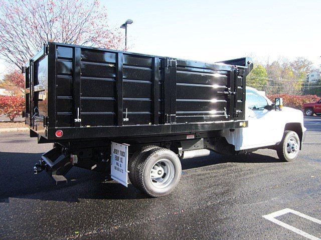 2017 Silverado 3500 Regular Cab DRW 4x4, Jersey Truck Dump Body #33034 - photo 2