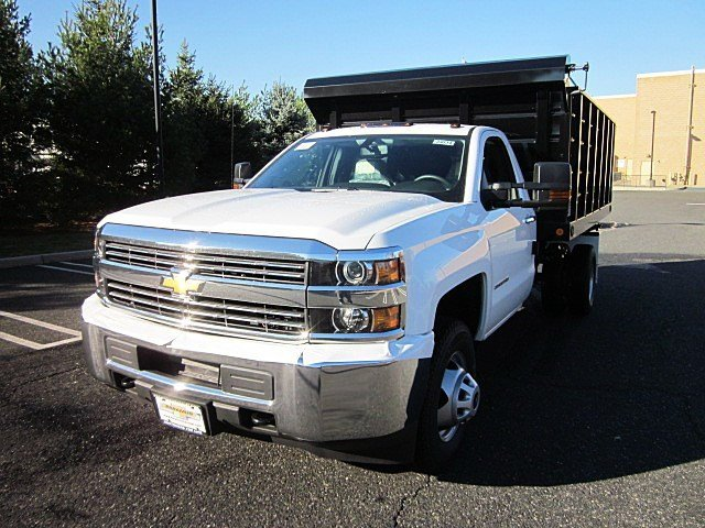 2017 Silverado 3500 Regular Cab DRW 4x4, Jersey Truck Dump Body #33034 - photo 4