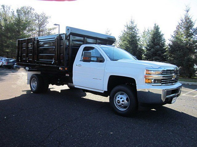2017 Silverado 3500 Regular Cab DRW 4x4, Jersey Truck Dump Body #33034 - photo 29