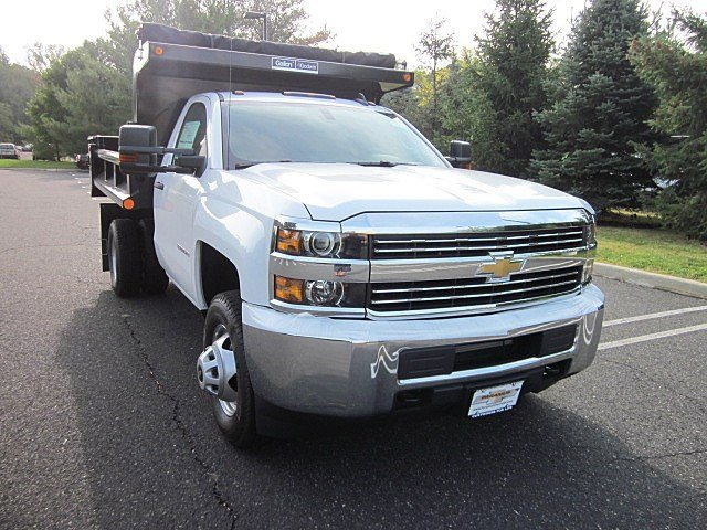 2017 Silverado 3500 Regular Cab 4x4, Galion Dump Body #33522 - photo 3