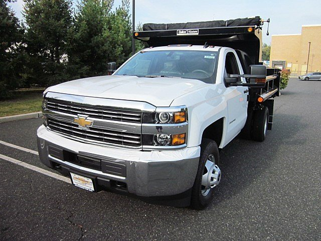 2017 Silverado 3500 Regular Cab 4x4, Galion Dump Body #33522 - photo 5