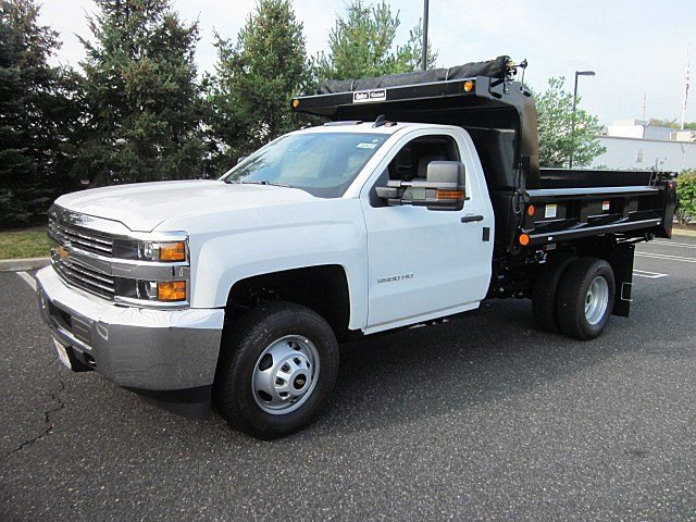 2017 Silverado 3500 Regular Cab 4x4, Galion Dump Body #33522 - photo 6
