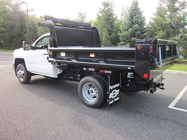 2017 Silverado 3500 Regular Cab 4x4, Galion Dump Body #33522 - photo 8