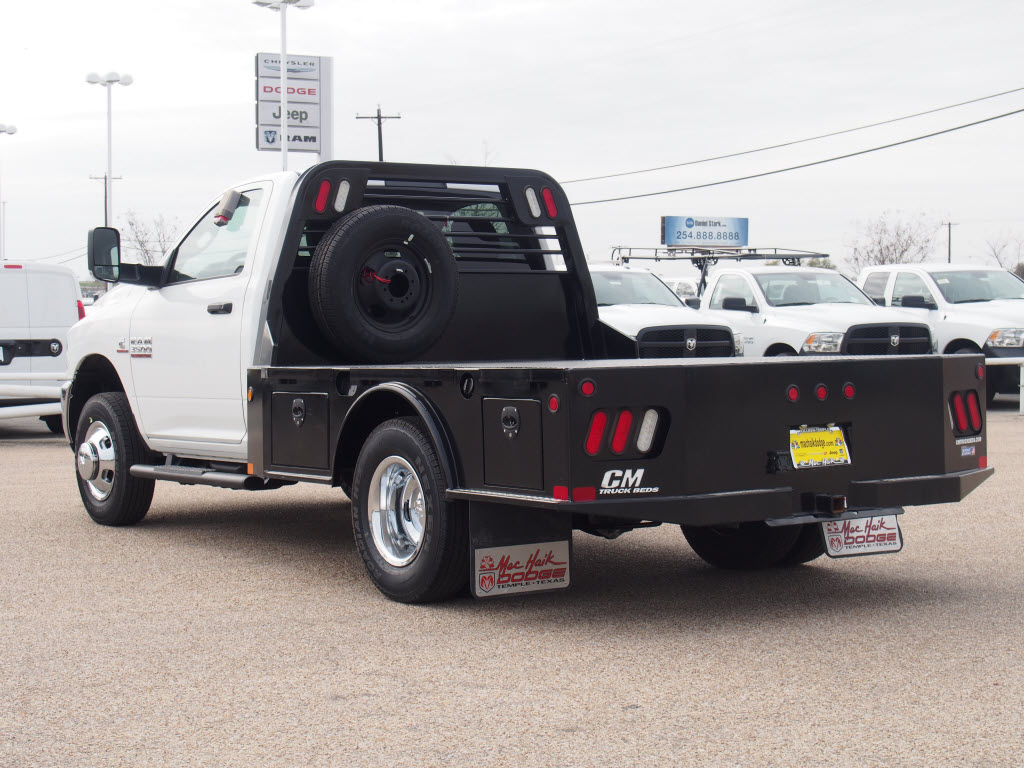 2017 Ram 3500 Regular Cab DRW, Platform Body #170024 - photo 2